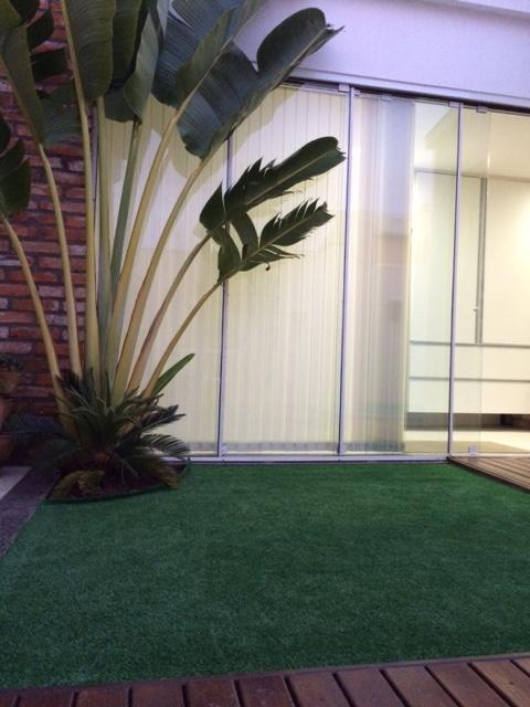 Grama sintética decorativa para ambientes internos e externos - Porto Alegre / Rio Grande do Sul