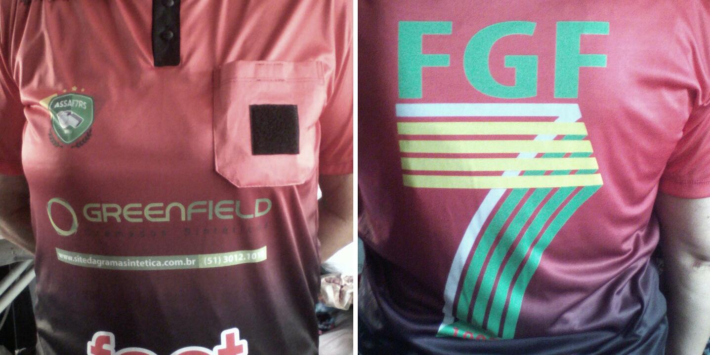 Greenfield patrocinando a Arbitragem da FGF7