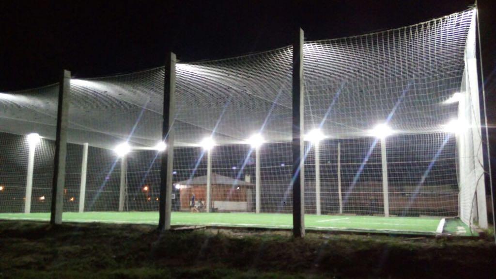 Iluminação para Estrutura de Quadras